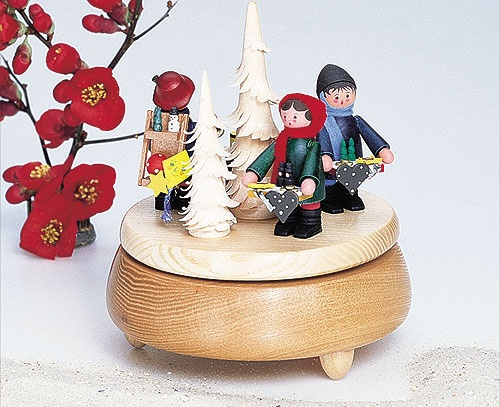 Spieldose Seiffener Weihnacht