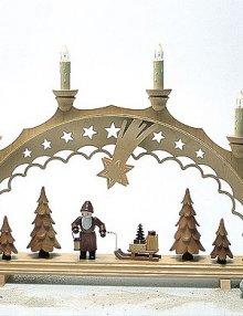 Schwibbogen Weihnachtsmann elektr.