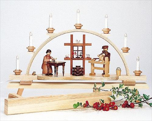 Fensterbank für Lichterbögen - 80 cm