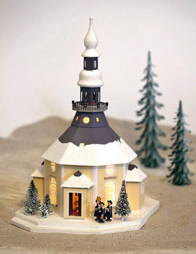 Weihnachtsdeko Seiffen.Seiffener Kirche Mit Kurrende