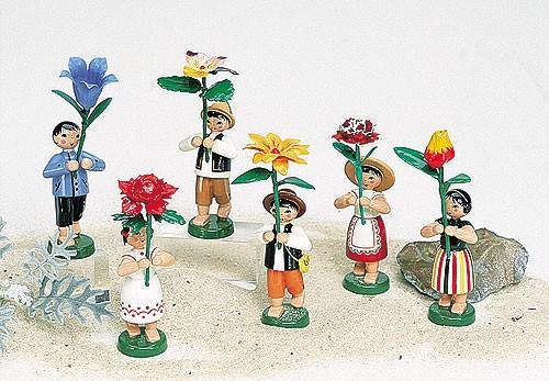 6 Sommerblumenkinder