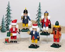 Mini.-Nussknacker Weihnachtsmann