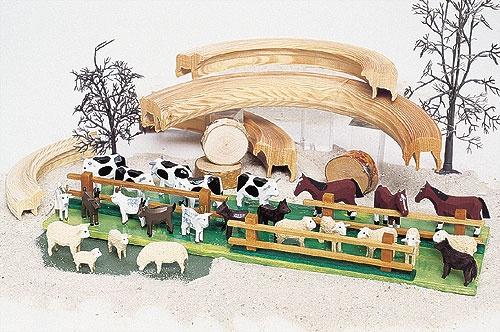 4 Schafe im Beutel