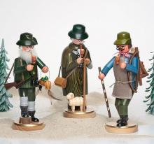 Räuchermann Waldarbeiter schreitend
