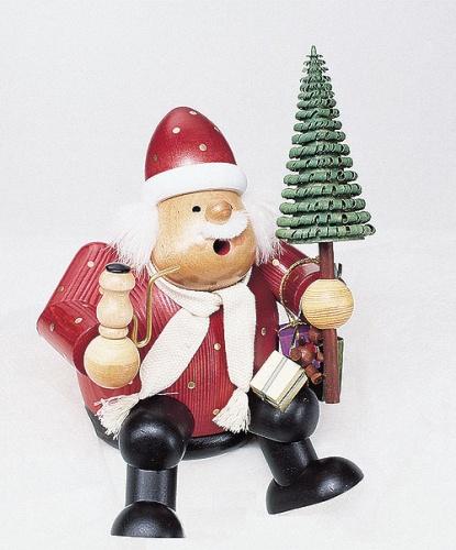 Räuchermann Weihnachtsmann groß
