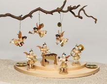 Engel mit Rumbakugeln (Maracas)