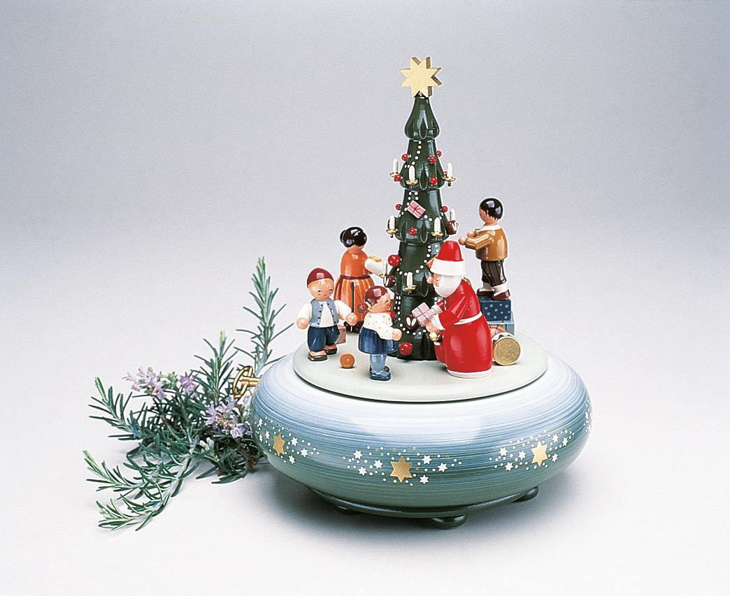 Spieldose Am Weihnachtsbaum