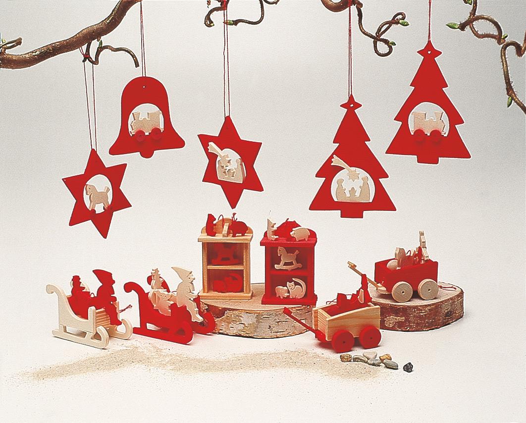 Behang 6 Nikolausschlitten