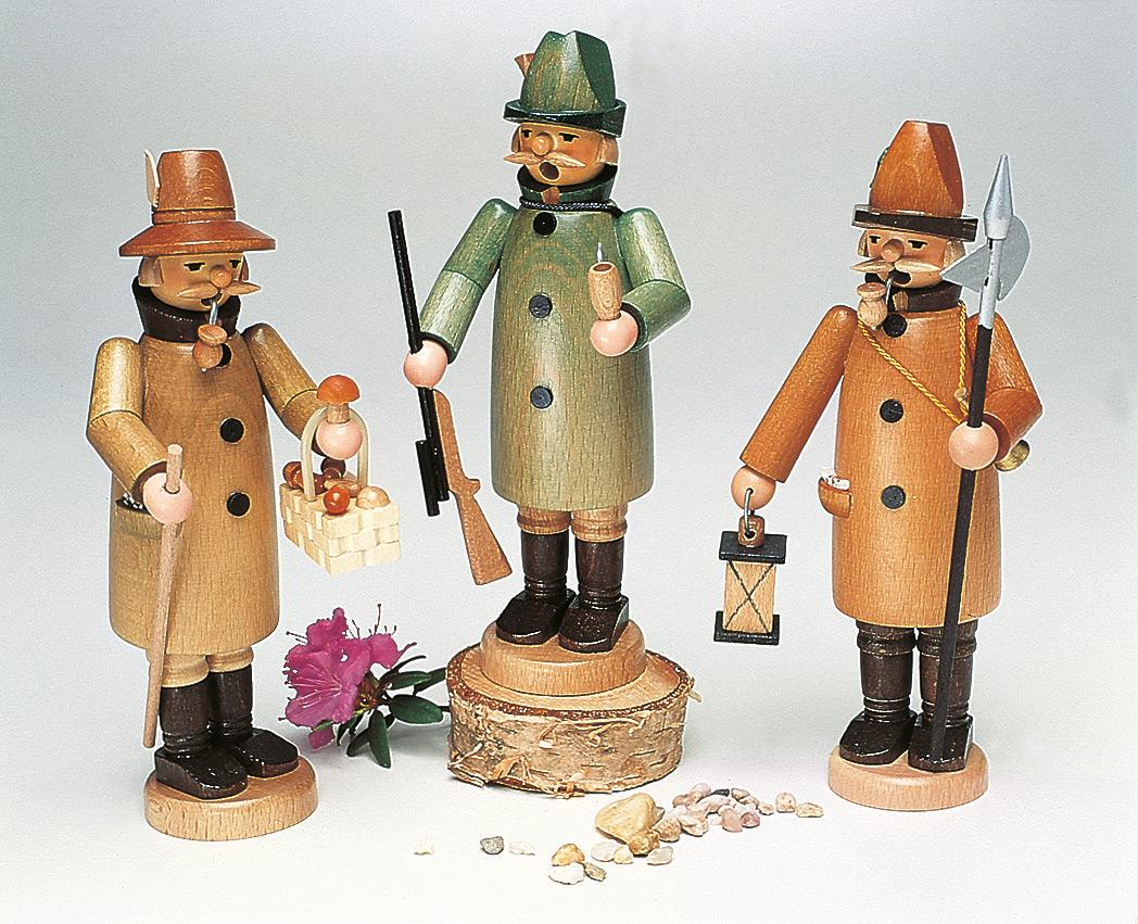 Räuchermann Pilzsammler