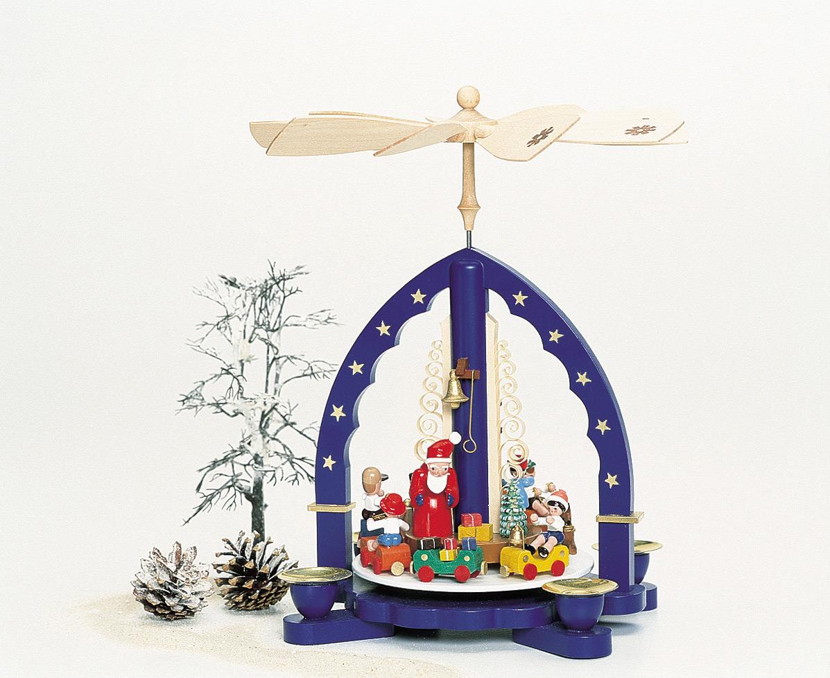 Weihnachtszug / blau