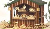 Weihnachtsmarkt-Bude