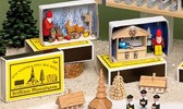 Miniaturen in der Zündholzschachtel