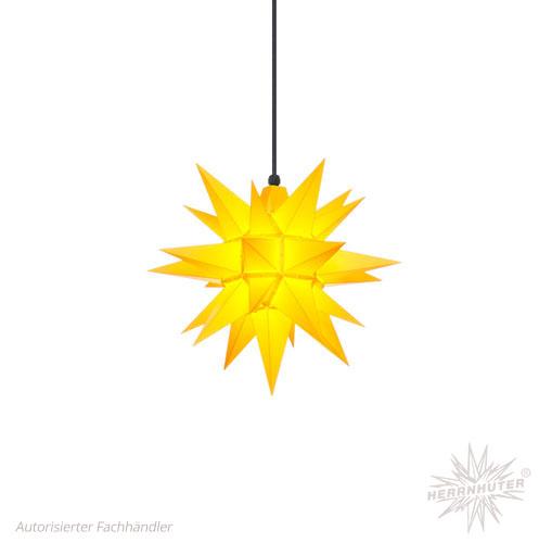 Herrnhuter Stern, Kunststoff 40cm, gelb