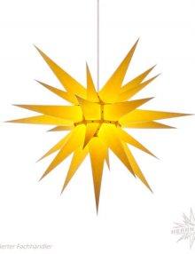 Herrnhuter Stern, Papier 70cm, gelb