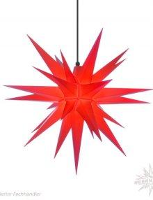 Herrnhuter Stern, Kunststoff 68cm, rot