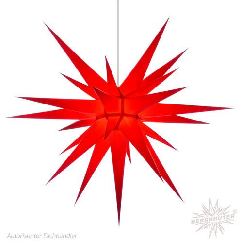 Herrnhuter Stern, Papier 80cm, rot
