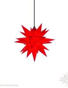 Herrnhuter Stern, Kunststoff 40cm, rot