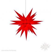 Herrnhuter Stern, Papier 60cm, rot