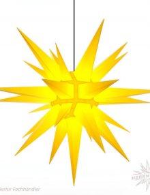 Herrnhuter Stern, Kunststoff 130cm, gelb