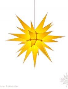 Herrnhuter Stern, Papier 60cm, gelb