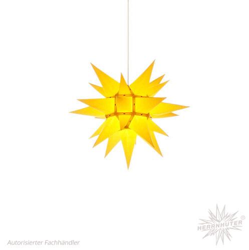 Herrnhuter Stern, Papier 40cm, gelb