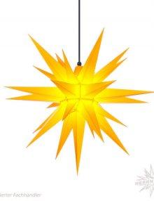 Herrnhuter Stern, Kunststoff 68cm, gelb