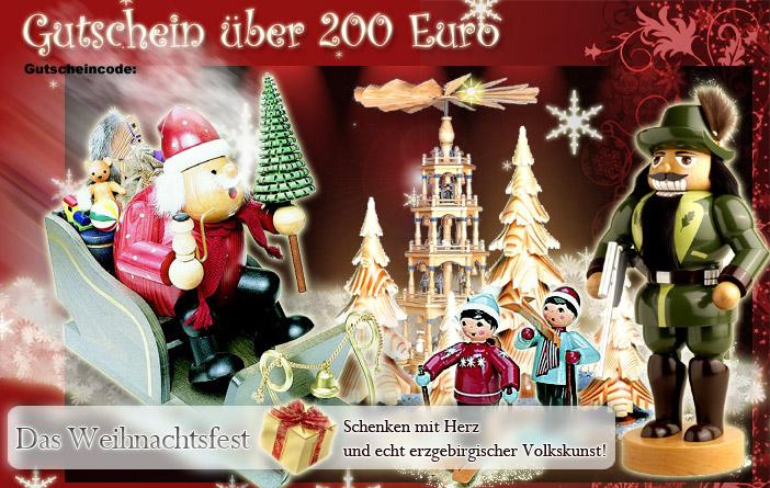 Gutschein, 200 Euro