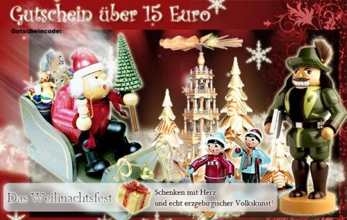 Gutschein, 15 Euro