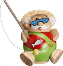 Kugelräucherfigur Hobby - Angler