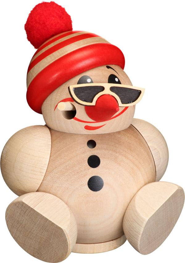Kugelräucherfigur Cool-Man mit Mütze