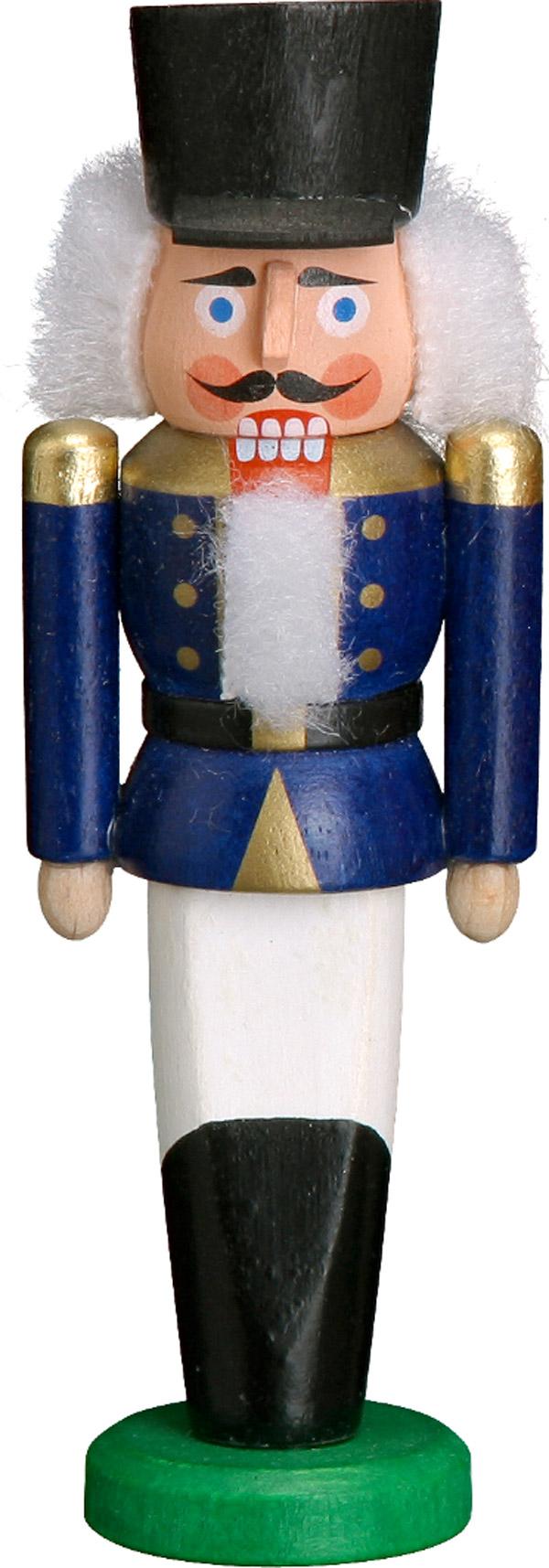 Nussknacker Behang Husar blau