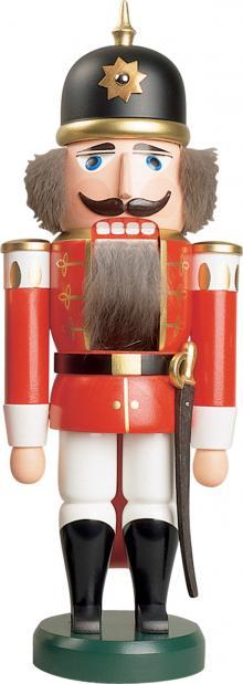 Nussknacker Soldat rot