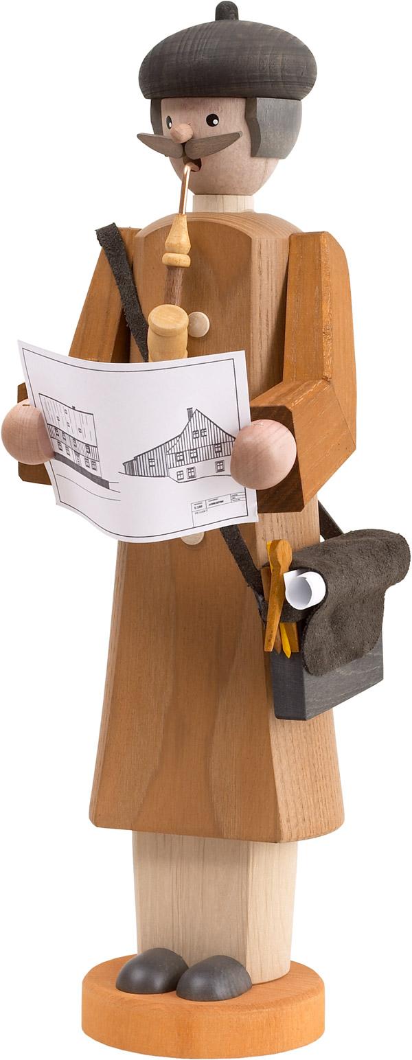 Räucherfigur Architekt