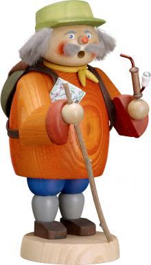 Räucherfigur Wandersmann