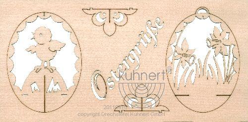 Oster Grußkarte - Puzzle