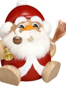 Kugelräucherfigur Nikolaus