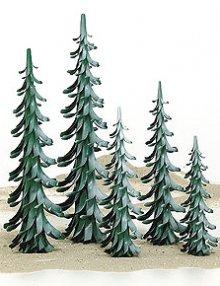 Spiralbaum grün-weiß / 40 cm