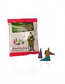 Crottendorfer Räucherkerzenbeutel, Bunte Mischung