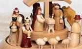 Krippen-Motive und Weihnachtsgeschichte