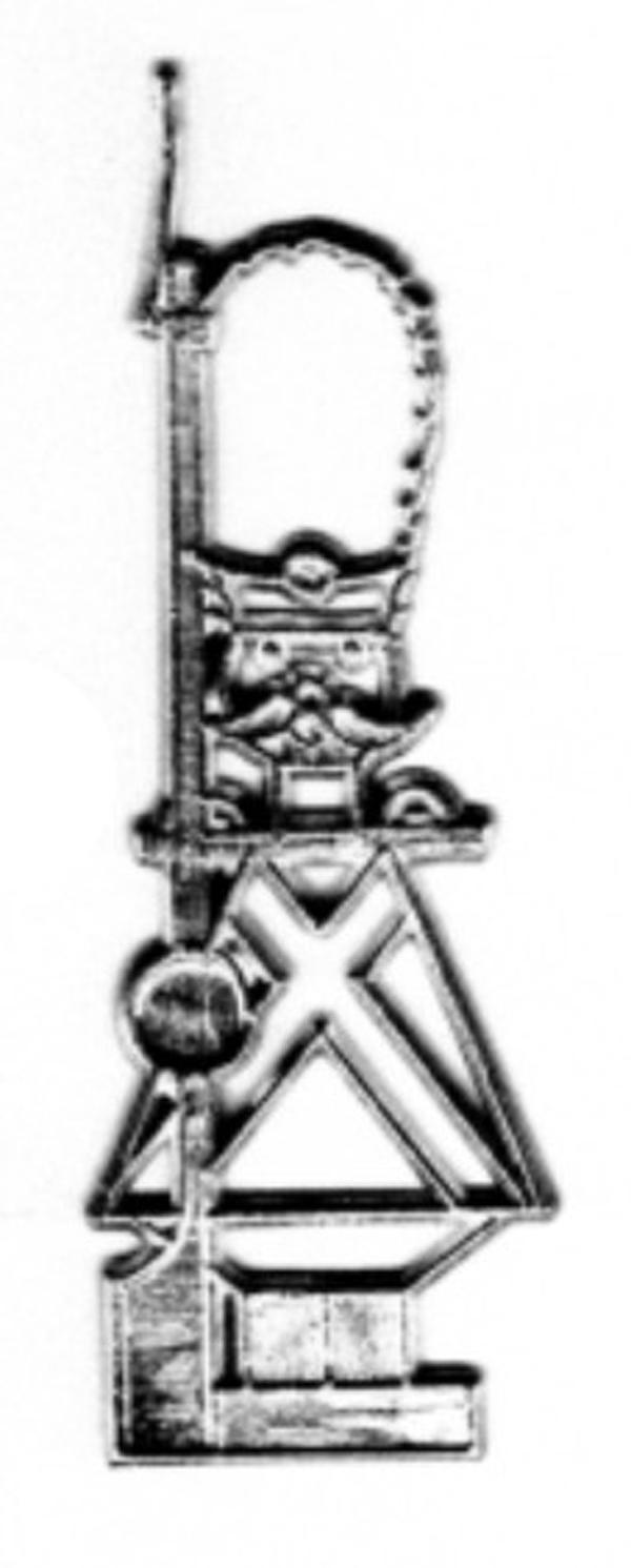 Baumbehang Soldat aus Zinn