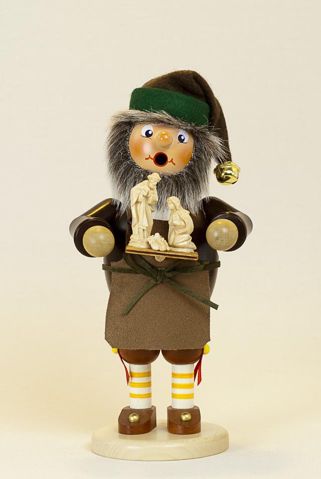 Räuchermann Holzschnitzer Elf (stehend)