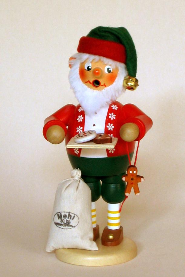 Räuchermann Lebkuchenbäcker Elf (stehend)