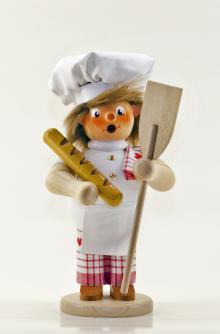 Räuchermann Bäcker (stehend)