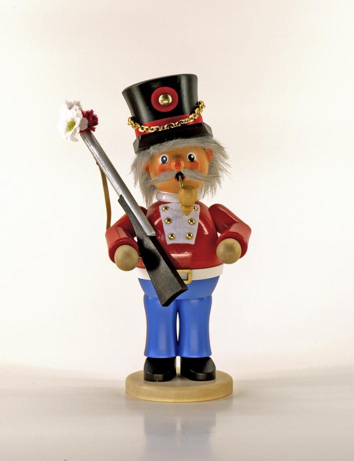Räuchermann Soldat (stehend)