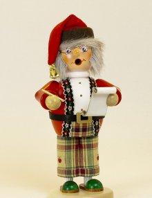 Räuchermann Elf mit Wunschzettel (stehend)