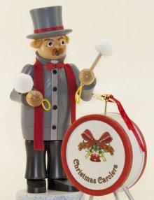 Räuchermann Weihnachtssinger Trommler
