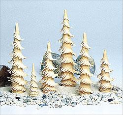 Spiralbaum natur / 13 cm