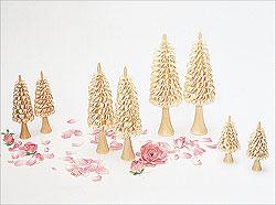 5 Rillenbäume / 9 cm