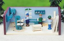 Miniaturstube Tischlerei