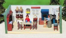 Miniaturstube Erzgebirgsstube